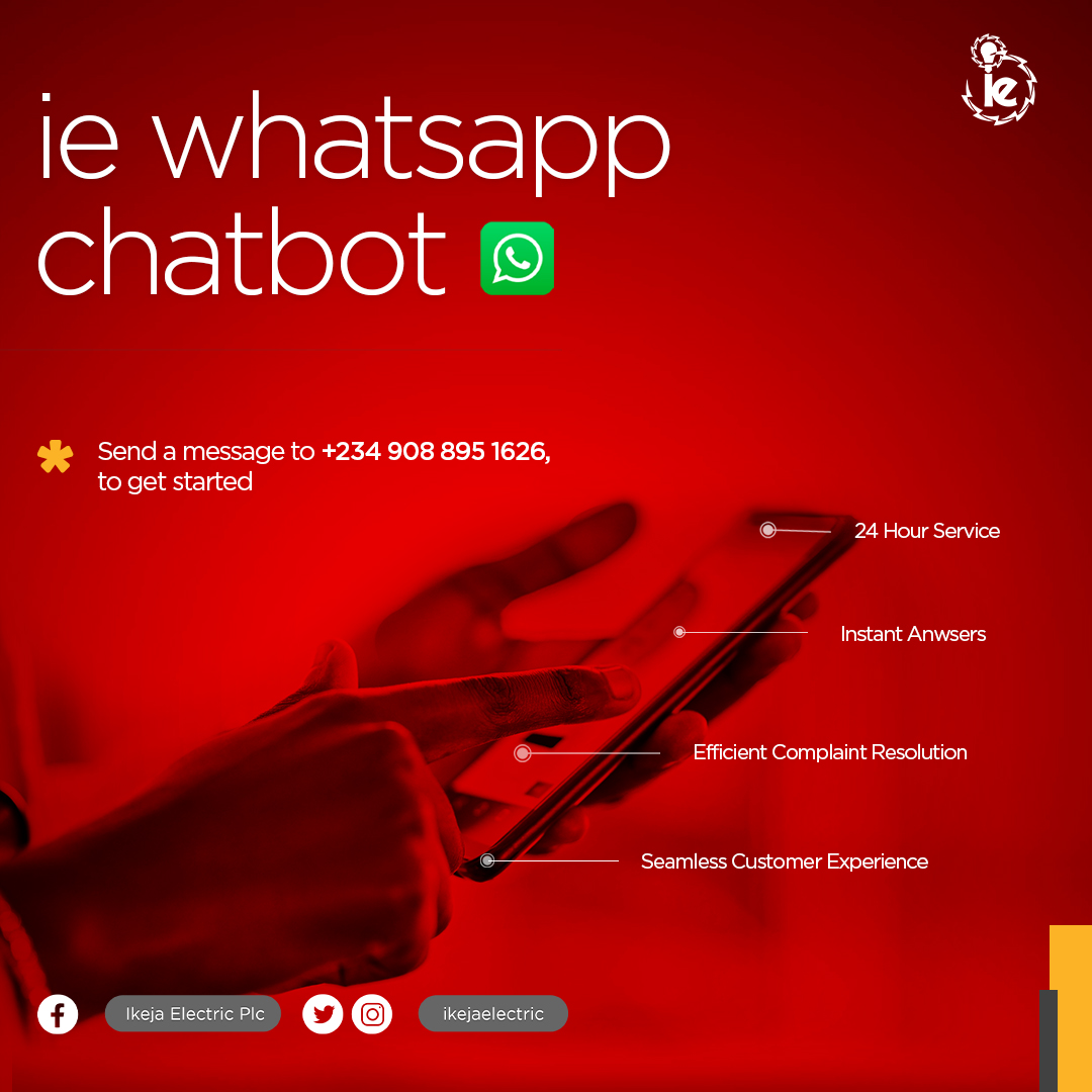 IE WhtasApp chatbot