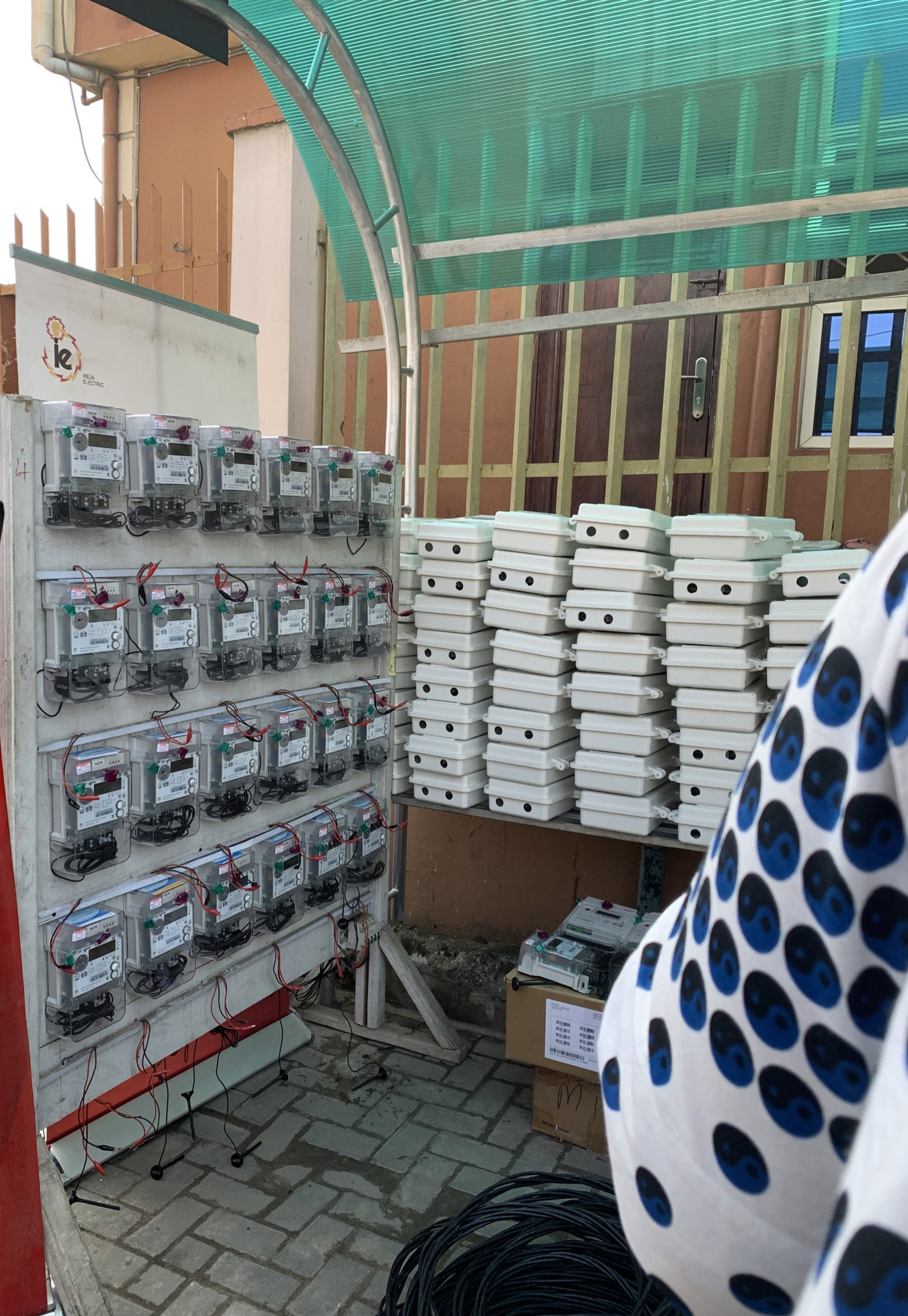 Mass metering ikeja electric